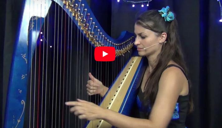 Last Christmas à la harpe