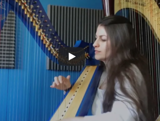 Ancient Land – Celtic Woman – arrangé par Evélina Simon à la harpe